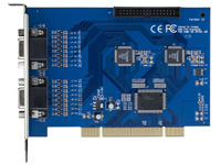 8ch software compression dvr card