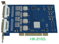 16ch software compression dvr card